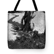 Black And White Roots Tote Bag