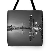 Black And White Rotterdam - The Netherlands Tote Bag