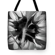Black And White Sunflower 5 Tote Bag