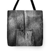 Square Point Shovel 3 Tote Bag