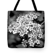 Black And White Twinkle Tote Bag