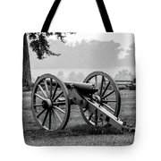 Black And White View Of The Angle Tote Bag