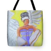 Black Angel Tote Bag