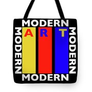 Black Art Tote Bag