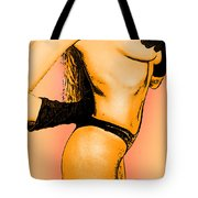 Black Attire Tote Bag