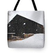 Black Barn II Tote Bag