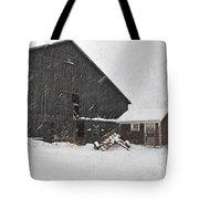 Black Barn IIi Tote Bag