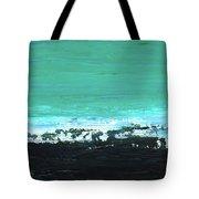 Black Beach Tote Bag