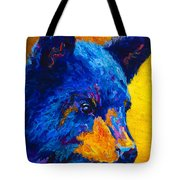 Black Bear Cub 2 Tote Bag