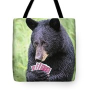 Black Bear Says I Call  Tote Bag