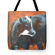 Black Beauty Tote Bag by Jean Ann Curry Hess