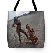 Black Bikinis 15 Tote Bag