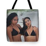 Black Bikinis 2 Tote Bag