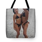 Black Bikinis 20 Tote Bag