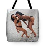 Black Bikinis 23 Tote Bag