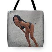 Black Bikinis 25 Tote Bag