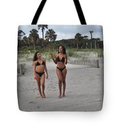 Black Bikinis 29 Tote Bag
