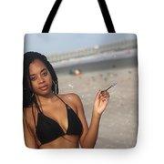 Black Bikinis 57 Tote Bag