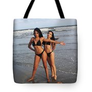 Black Bikinis 65 Tote Bag