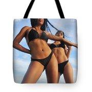 Black Bikinis 66 Tote Bag