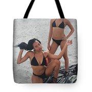 Black Bikinis 7 Tote Bag