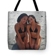 Black Bikinis 9 Tote Bag