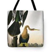 Black Billed Darter Tote Bag by John James Audubon