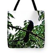 Black Bird Sings Tote Bag