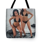 Black Bkinis 3 Tote Bag