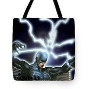 Black Bolt Tote Bag