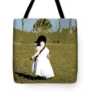 Black Bonnet Tote Bag