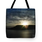 Black Butte Sunrise Tote Bag