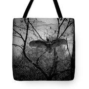 Black Buzzard 3 Tote Bag