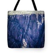 Black Canyon In Colorado Tote Bag