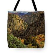 Black Canyon Of The Gunnison - Colorful Colorado - Landscape Tote Bag