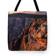 Black Canyon Sunset Glow Tote Bag