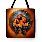 Black Cat Cupcake Tote Bag