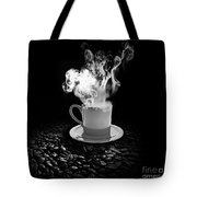 Black Coffee Tote Bag by Stefano Senise