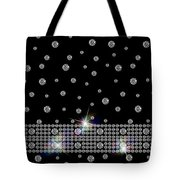 Black Diamonds Jewelry Art Tote Bag