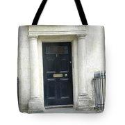 Black Door Tote Bag