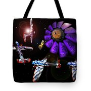 Black Dwarf Tote Bag