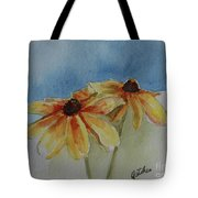 Black Eyed Susan Duet Tote Bag