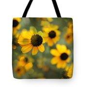 Black Eyed Susan Floral Tote Bag