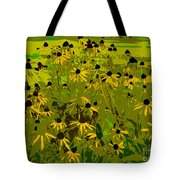 Black Eyed Susan Work Number 21 Tote Bag