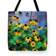Black-eyed Susans At The Bag Factory Tote Bag