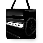 Black Falcon Tote Bag