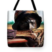 Black Farmer Tote Bag