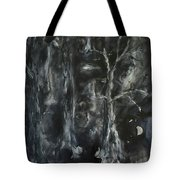 Black Magic Mystery Tote Bag