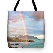 Black Friday Rainbow Tote Bag