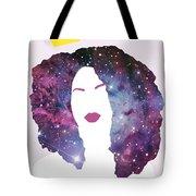 Black Girl Magic Sparkle Tote Bag